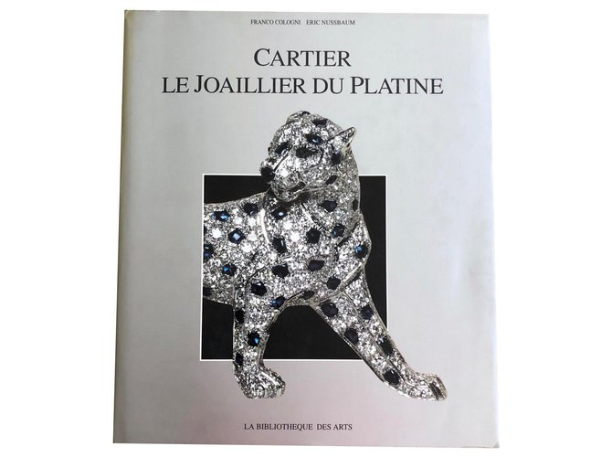 Cartier Cartier The Jeweler Platinum Misc Other Silvery ref.158759