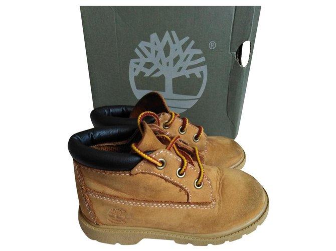 Bottes, bottines Timberland Classic boots Autre Caramel ref.158890