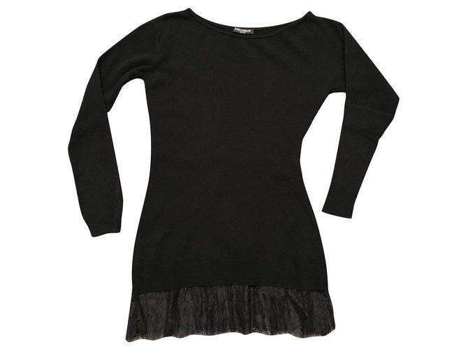 Flavio Castellani Knitwear Black Cashmere Wool  ref.158946