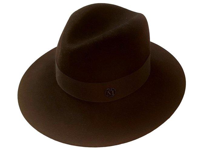 Maison Michel Virginie195 Hats Rabbit Black ref.159072