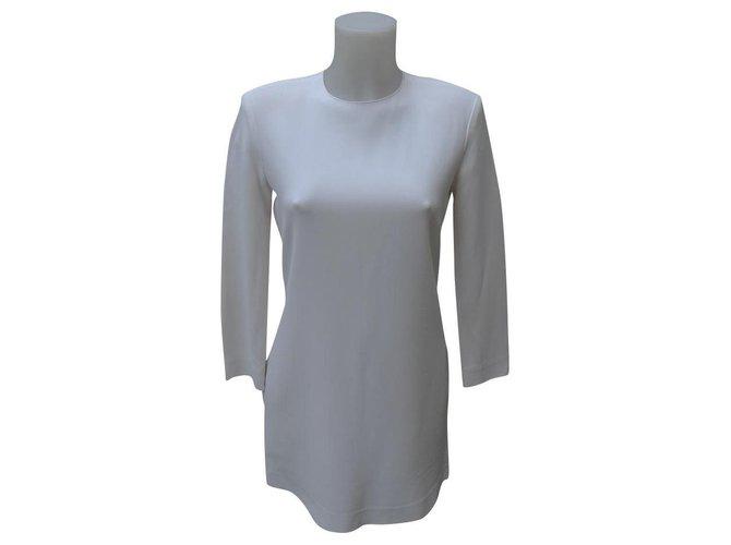 Céline Dresses Dresses Viscose,Elastane,Acetate Cream ref.159162