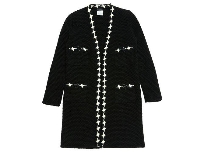 Chanel BLACK CASHMERE FR40 Knitwear Cashmere Black ref.159281