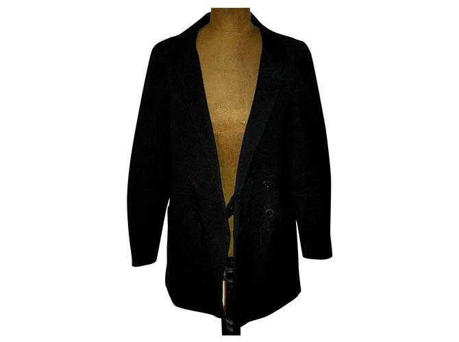 Chloé Coats, Outerwear Coats, Outerwear Cotton Black ref.159291