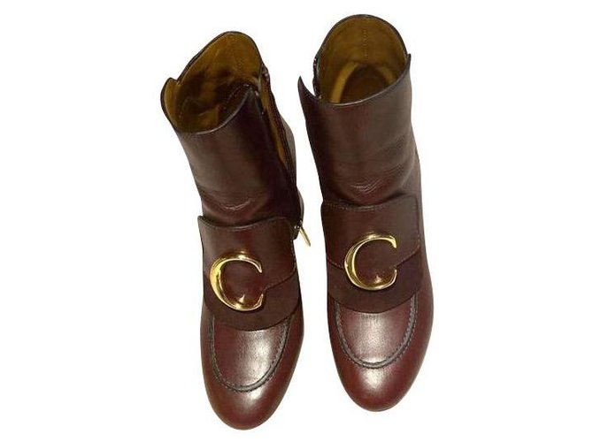 Chloé Boots Boots Leather Other ref.159541