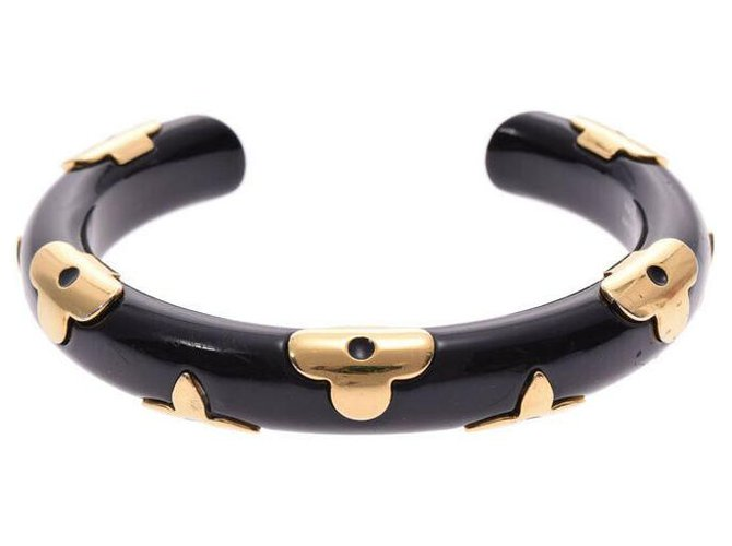 Bracelets Louis Vuitton Louis Vuitton Jonku Daily Monogram M Autre Noir ref.159604