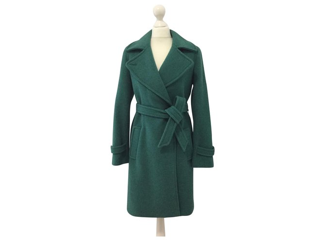 Max Mara Coats, Outerwear Coats, Outerwear Wool Green ref.160087
