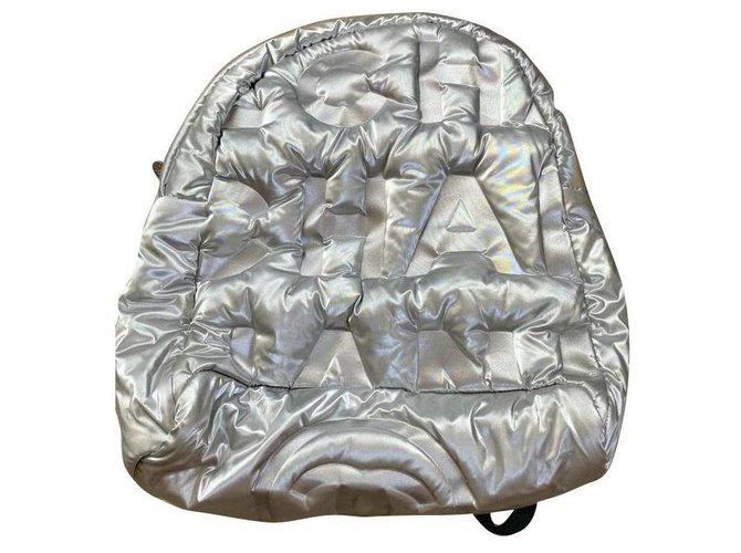 Chanel Backpacks Backpacks Cloth Metallic ref.161143
