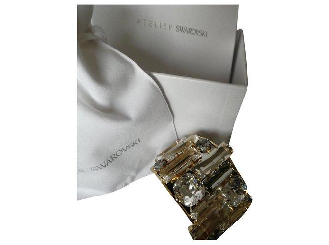 Bracelets Autre Marque Swarovski collection Nille Cuff Autre Autre ref.161412