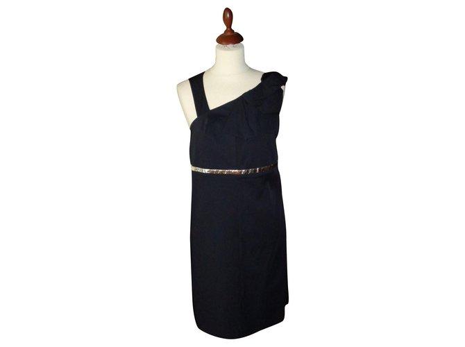 Chloé Dresses Dresses Silk Black ref.161775