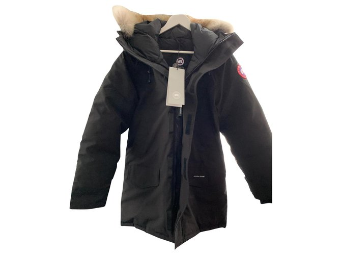 Canada Goose Langford Parka Men Coats Outerwear Other Black ref.161901