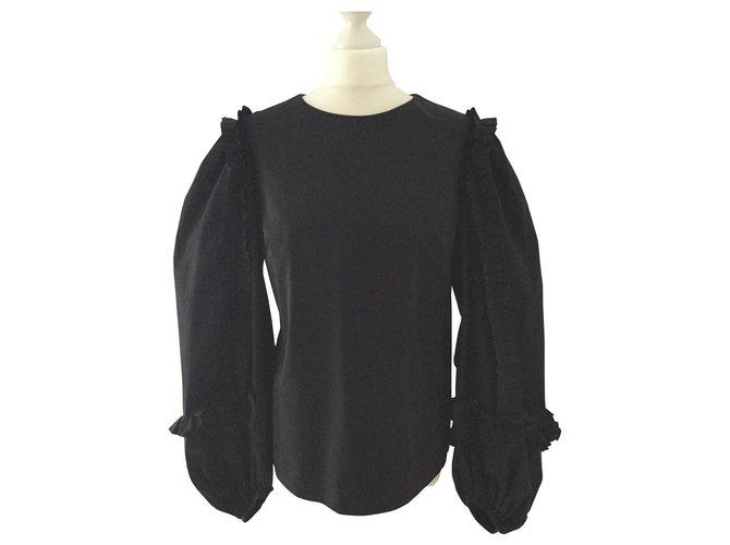 Tops Dries Van Noten Hauts Coton Noir ref.161904