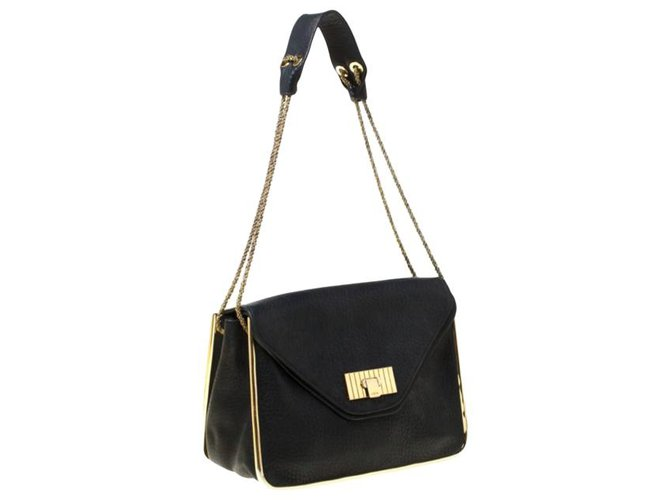 Chloé Handbags Handbags Leather Black ref.162429