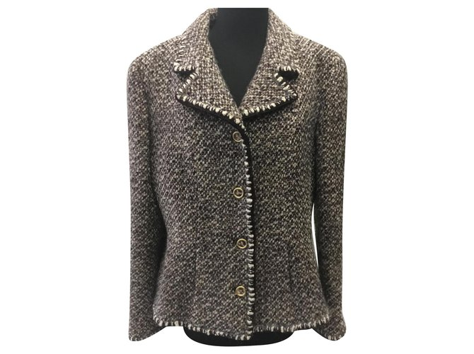 Chanel Jackets Jackets Other Turquoise ref.162526