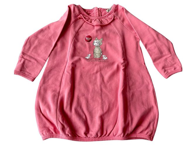 Armani Dresses Dresses Cotton Pink ref.162747