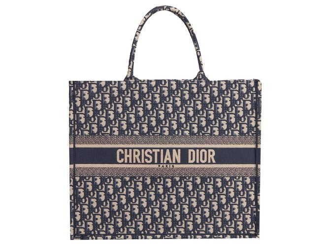 Dior Dior book tote new Handbags Other Blue ref.162754