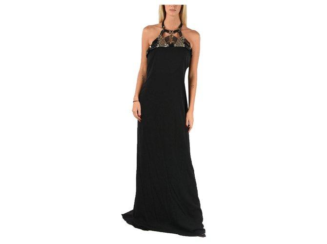 Robes Gucci Gucci dress new Soie Noir ref.162780