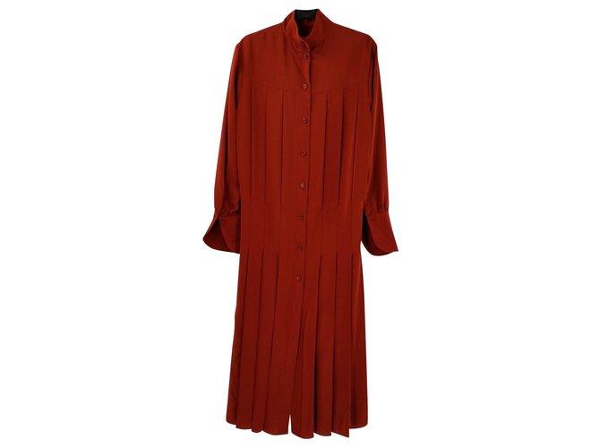 Chloé Dresses Dresses Silk Red ref.162842