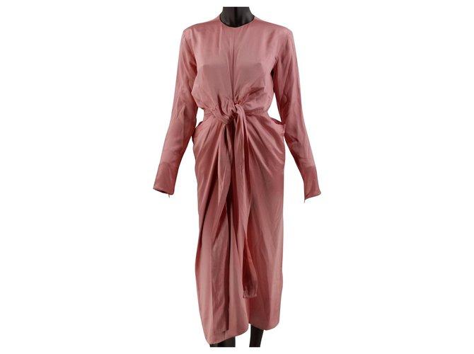 Céline Dresses Dresses Silk Pink ref.162849