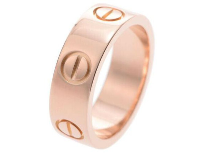 Bagues Cartier Bague Love Cartier Or rose Rose ref.162880