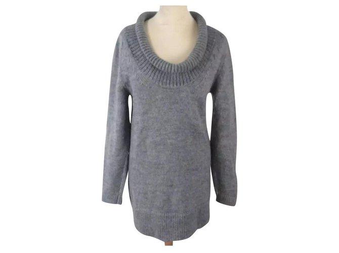 Chloé Knitwear Knitwear Wool Grey ref.163643