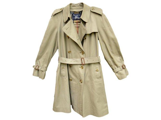 Vintage Burberry Women S Trench Coat 42, Trench Coat Vintage Burberry