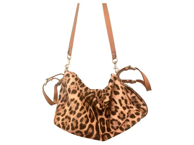 Dolce & Gabbana MISS ADVENTURE by DOLCE GABBANA Travel bag Fur Brown ref.165160