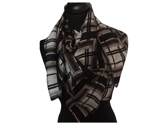The Kooples Scarves Scarves Silk Multiple colors ref.165392