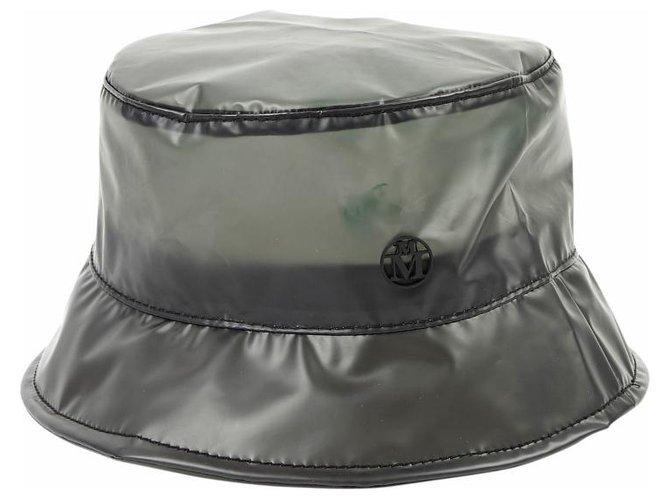 Maison Michel Hats Hats Plastic Black ref.166183