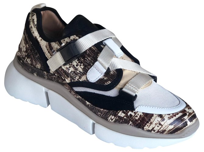 Chloé Sonnie Sneakers Leather Multiple colors ref.166331