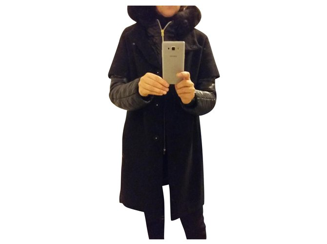 Herno Coats, Outerwear Coats, Outerwear Wool Black ref.166367