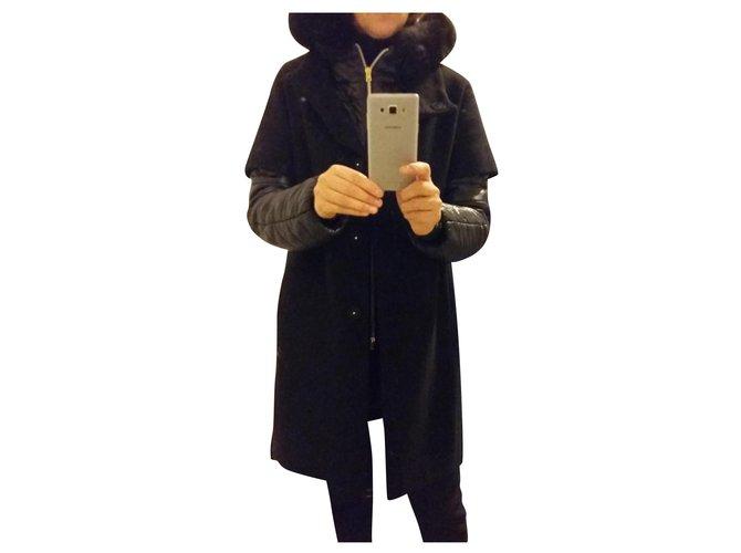 Manteaux Herno Manteaux, Vêtements d'extérieur Laine Noir ref.166367
