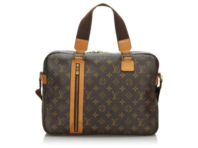 Louis Vuitton Louis Vuitton Brown Monogram Sac Bosphore Misc Leather,Cloth Brown ref.166771