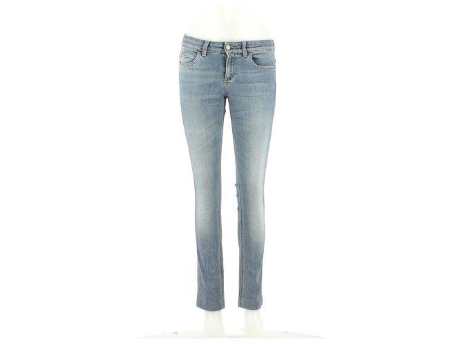 Pantalons Gucci Pantalon Jean Bleu clair ref.166816