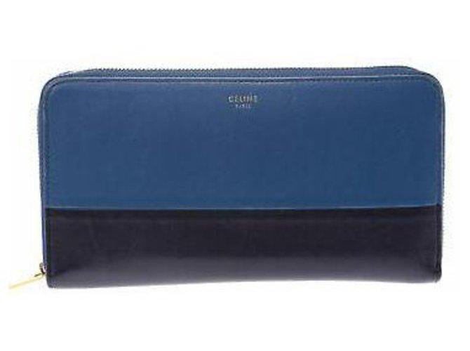 Céline Céline Round Fastener Wallet Purses, wallets, cases Leather Other ref.167042