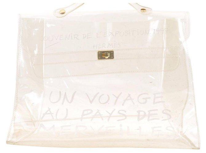 Hermès Hermès Vinyl Kelly Handbags Patent leather Other ref.167426