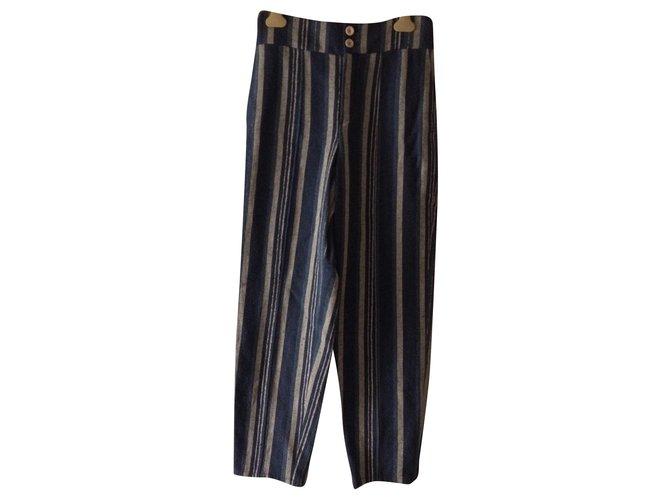 Chloé Pants, leggings Pants, leggings Cotton,Viscose,Linen Multiple colors ref.167676