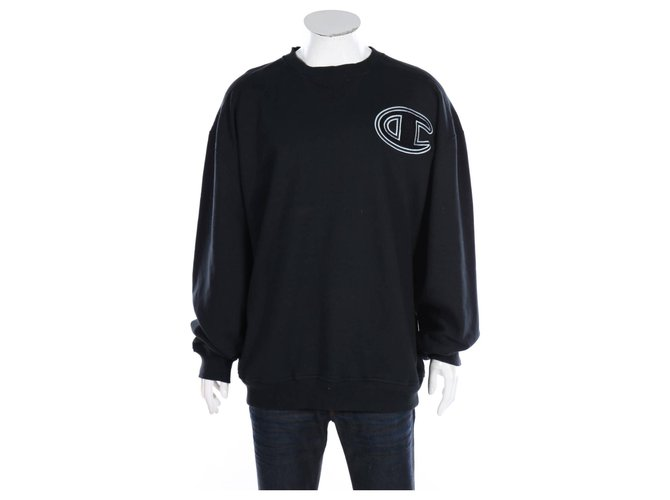 Autre Marque Sweaters Sweaters Cotton,Polyester Black ref.167890