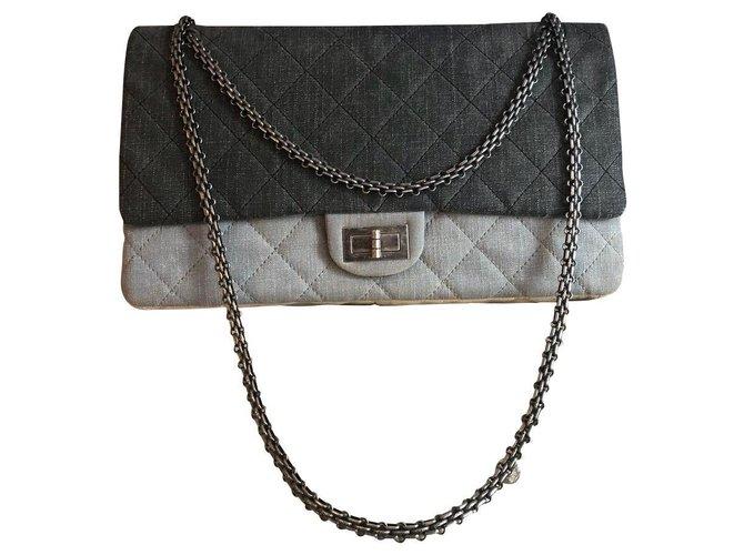 Sacs à main Chanel Chanel Jean Multicolore ref.168424