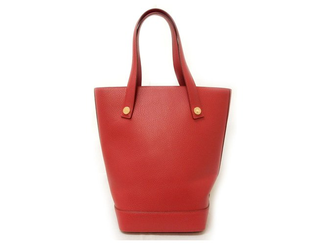 Hermès Hermès Sorbonne Ardennes Handbags Leather Red ref.168681