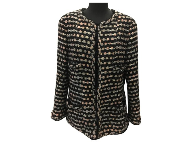 Chanel Jackets Jackets Tweed Other ref.168737