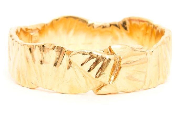 Bracelets Yves Saint Laurent GOLDEN RIBBON BRACELET Métal Doré ref.168802