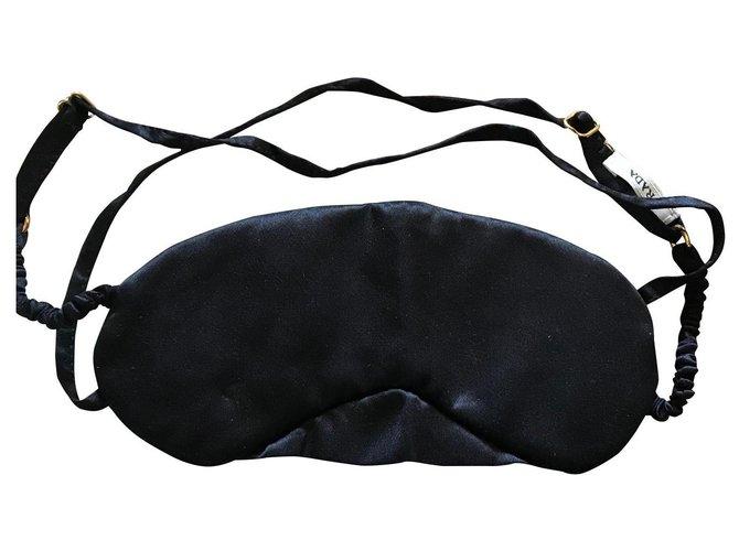 Décoration divers Prada Misc Satin Noir ref.168899