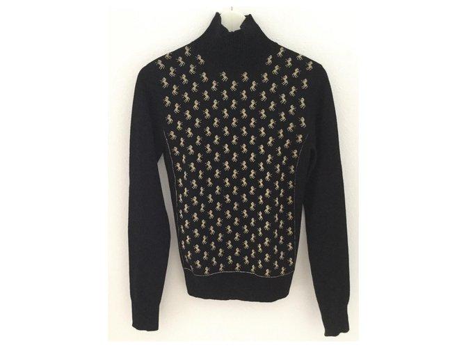 Chloé Knitwear Knitwear Wool Black ref.168911