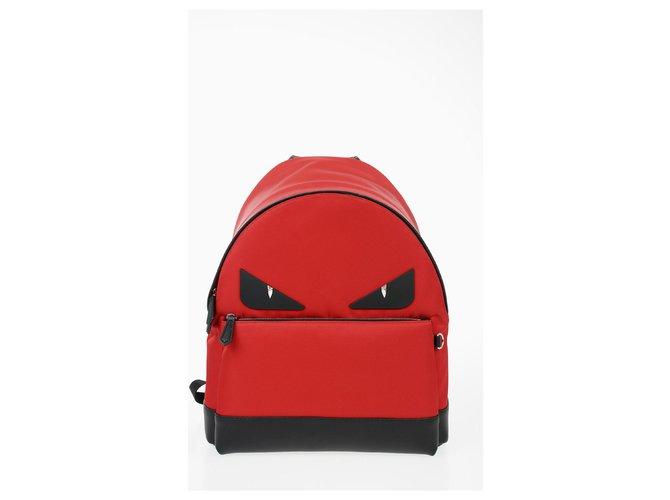 Fendi Fendi backpack new Backpacks Leather Red ref.169136