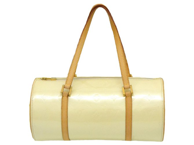 Louis Vuitton Louis Vuitton Bedford Handbags Patent leather White ref.169139