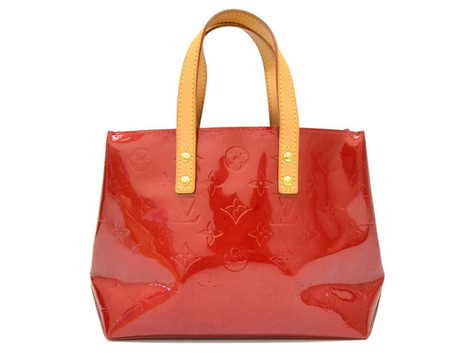 Louis Vuitton Louis Vuitton handbag Handbags Patent leather Red ref.169142