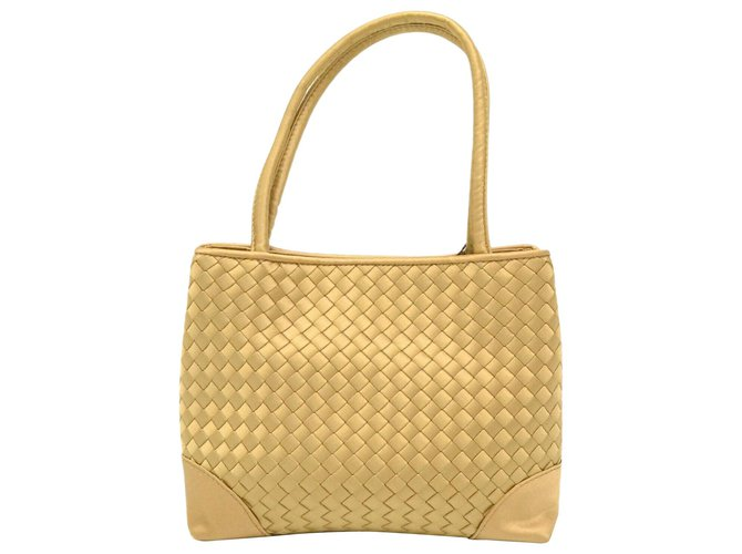 Bottega Veneta Bottega Veneta Intrecciato Handbags Cloth Golden ref.169149