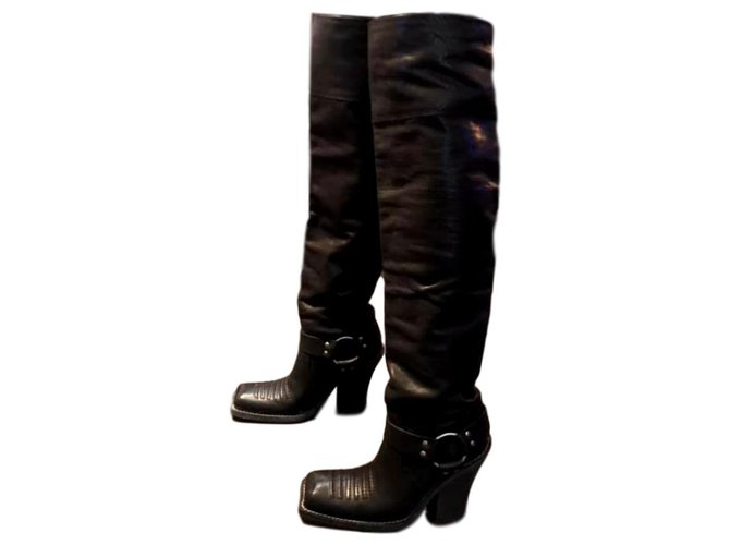 Christian Dior Thigh high boots Boots