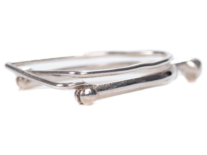 Hermès Hermès money clip in silver Misc Silver Silvery ref.170156