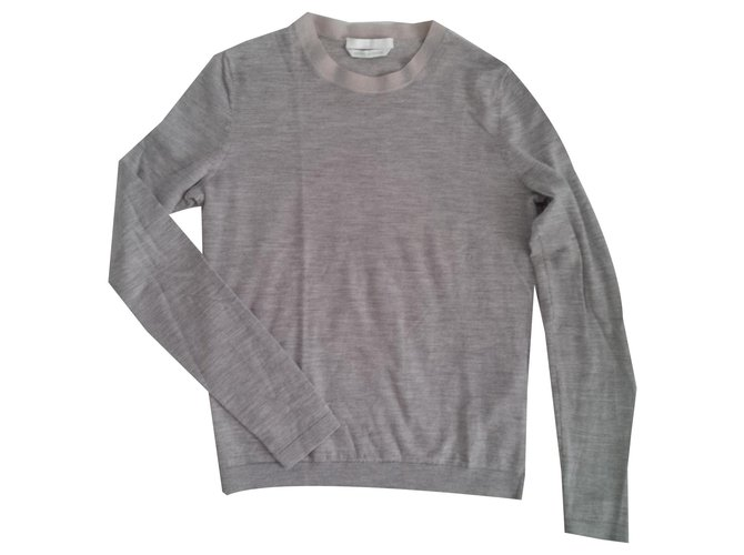 Hugo Boss Knitwear Knitwear Wool Grey ref.170227